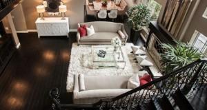 Nội thất phòng khách đẹp, thiết kế phong cách châu âu